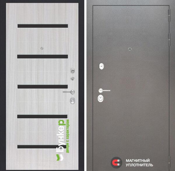 Серия «SILVER» модель №40 Сандал белый с черн. стеклом