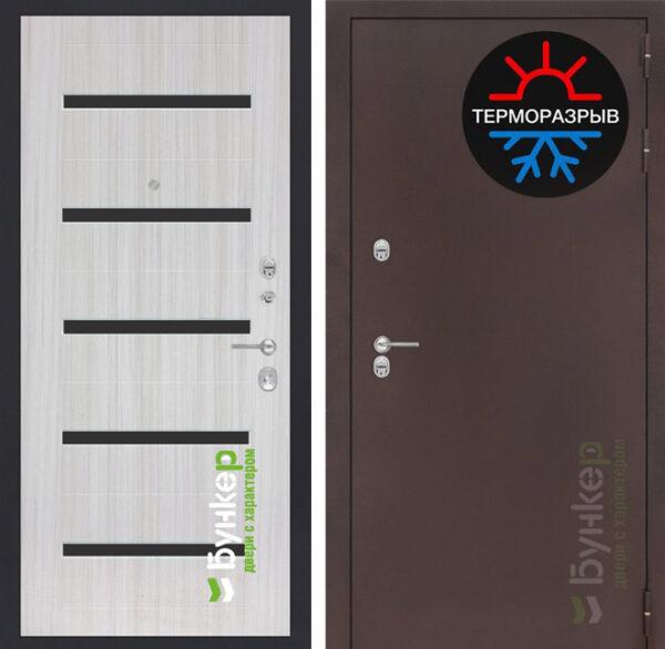 серия «ТЕРМО-3» модель№40 сандал белый с черным стеклом