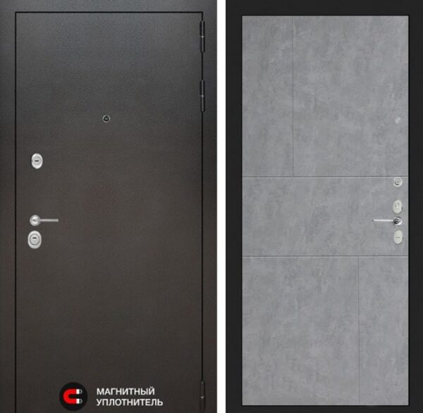 «LOFT» мод.№ 42 бетон серый